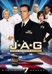 JAG: The Seventh Season DVD cover art