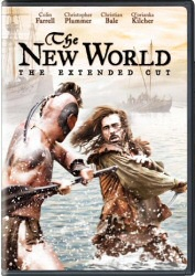 The New World: Extended Cut DVD cover art