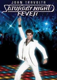 Saturday Night Fever DVD cover art
