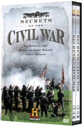 Secrets of the Civil War DVD cover art