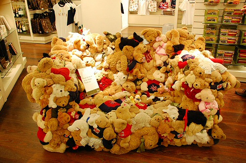 Stuffed Animal Couch from Harrod's