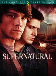 Supernatural: The Complete Third Season DVD cover art
