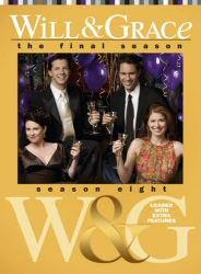 Will and Grace: Season 8 DVD cover art