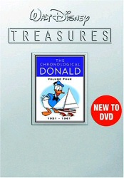 Walt Disney Treasures: The Chronological Donald, Vol. 4 1951-1961 DVD cover art