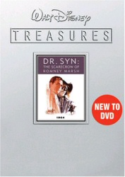 Walt Disney Treasures: Dr. Syn: The Scarecrow of Romney Marsh DVD cover art