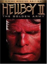 Hellboy II: THe Golden Army DVD cover art