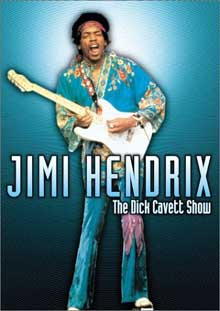 Jimi Hendrix: The Dick Cavett Show DVD cover art