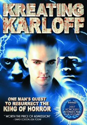 Kreating Karloff DVD cover art
