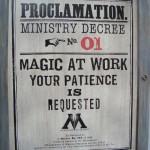 Proclamation: Ministry Decree No. 01: Magic at Work