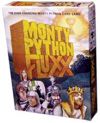 Monty Python Fluxx game cover art