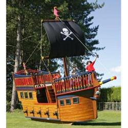 Garden Pirate Ship