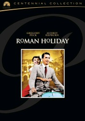 Roman Holiday: Centennial Collection DVD cover art