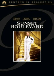 Sunset Boulevard: Centennial Collection DVD cover art