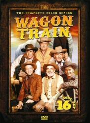 Wagon Train: The Complete Color Season DVD cover art