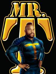 Mr. T graphic novel cover art
