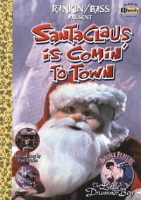 Santa Claus is Coming to Town DVD cover art