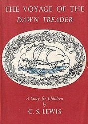 The Voyage of the Dawn Treader book cover art
