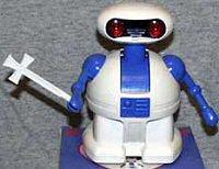 God-Jesus toy robot