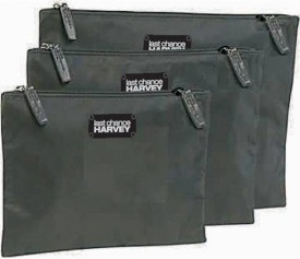 Last Chance Harvey TUMI bags