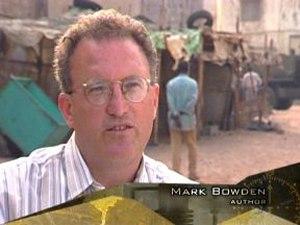 Mark Bowden talks Black Hawk Down