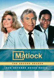 Matlock: The Second Season DVD cover art