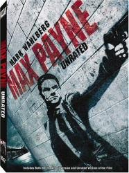 Max Payne DVD cover art