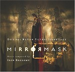Mirrormask soundtrack CD cover art