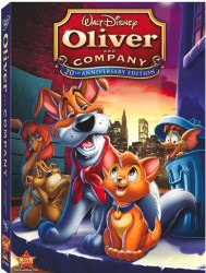 Oliver and Company DVD cover art