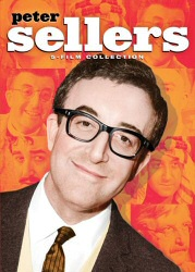 Peter Sellers 5-Film Collection DVD cover art