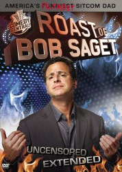 Roast of Bob Saget DVD cover art