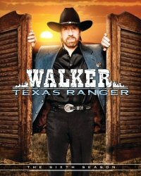 Walker Texas Ranger: The Sixth Season DVD cover art