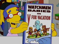 Watchmen Babies from The Simpsons
