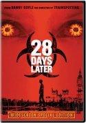 28 Days Later DVD cover art