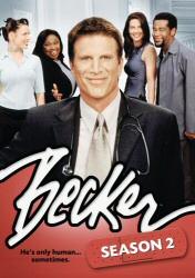 Becker Season 2 DVD cover art