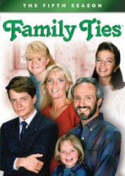 Family Ties: The Fifth Season DVD cover art
