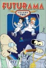 Futurama, Vol. 2 DVD cover art