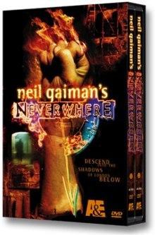 Neverwhere DVD cover art