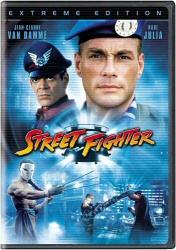 Street Fighter DVD cover art