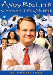 Andy Richter Controls the Universe: The Complete Series DVD cover art
