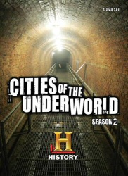 Cities of the Underworld: Season 2 DVD cover art
