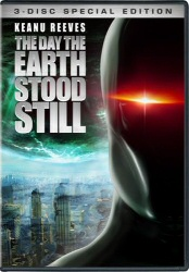 Day The Earth Stood Still remake DVD cover art