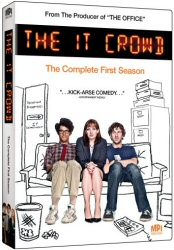 The IT Crowd Season 1 DVD cover art