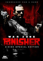 Punisher War Zone DVD cover art