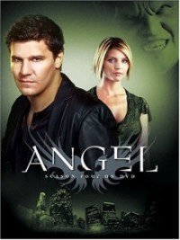 Angel Season 4 DVD cover art
