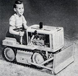 Child bulldozer