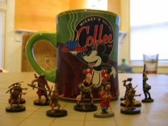Dungeons and Dragons and Coffee