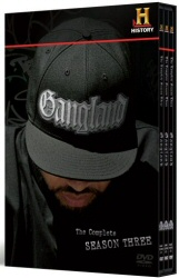 Gangland: The Complete Season Three DVD cover art