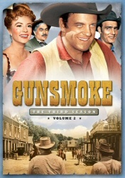 Gunsmoke: The Third Season, Vol. 2 DVD cover art