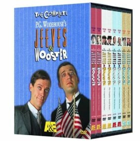 Jeeves and Wooster The Complete Set DVD cover art