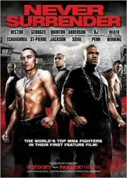 Never Surrender DVD cover art